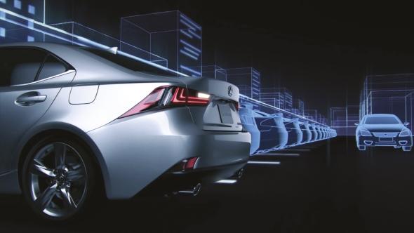 Lexus car safety monitoring systems Rear Cross Traffic Alert