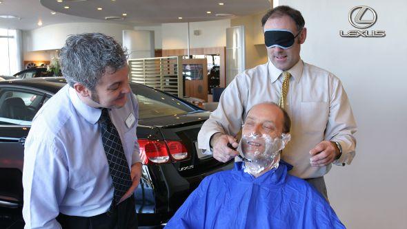 Lexus shaving