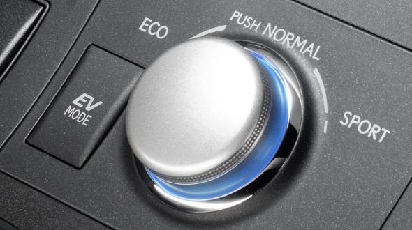 CT 200h control Lexus Hybrid Drive