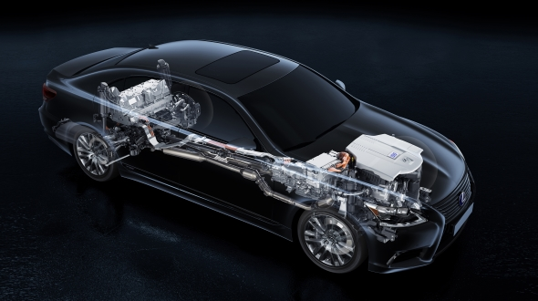LS 600h Lexus Hybrid Drive