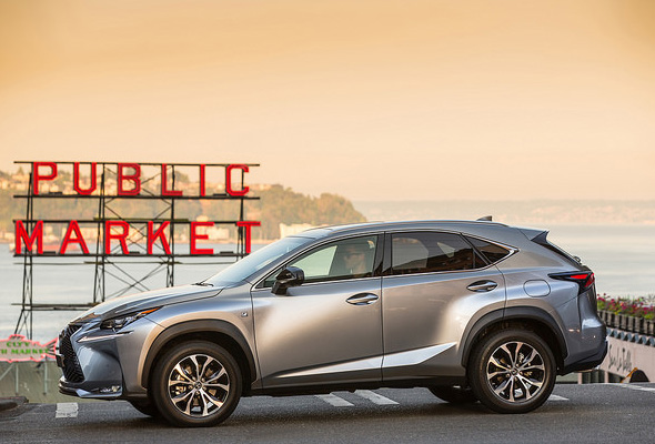 Lexus NX 300h takes safety to a higher level