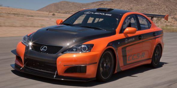 IS F CCS-R Lexus and the carbon fibre wonder-weave
