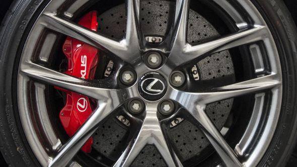 LFA brakes Lexus and the carbon fibre wonder-weave