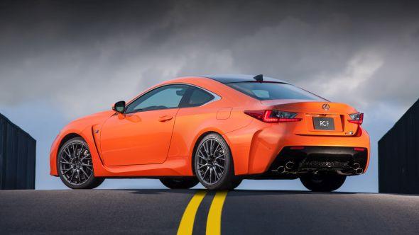 Lexus RC F hero 01