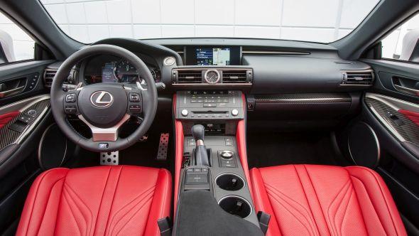 Lexus RC F hero 03