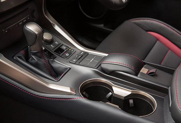 Lexus NX 300h Technology NX touch pad