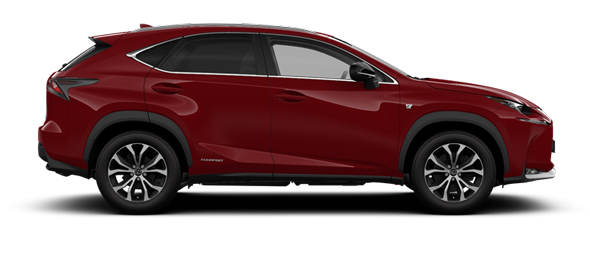 Lexus NX 18-inch alloy wheels F SPORT