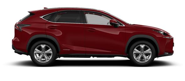 Lexus NX 18-inch alloy wheels Premier