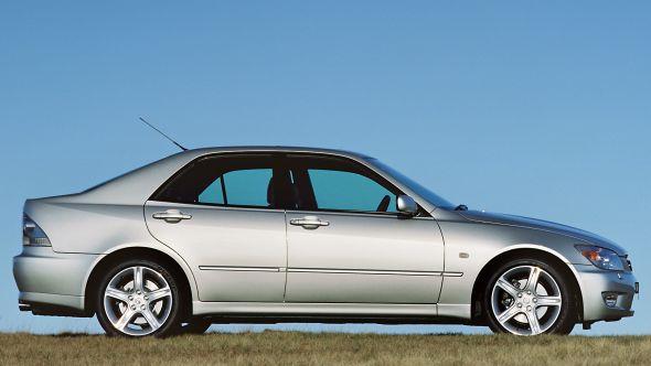 UK's oldest Lexus IS 200