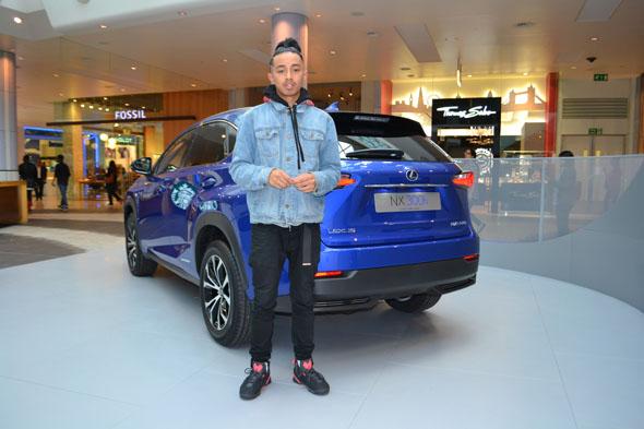 Lexus NX Westfield shopping centre F SPORT