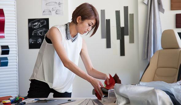 Momoko Okamoto lexus colour designer (1)