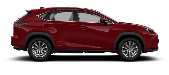 Lexus NX 17-inch alloy wheels