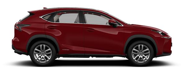 Lexus NX 18-inch alloy wheels SE