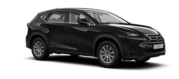 Lexus NX colours Celestial Black