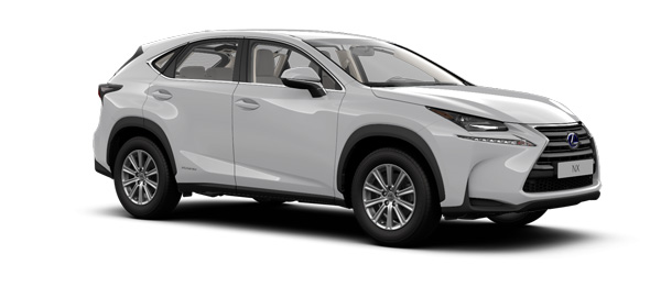 Lexus NX colours Satin Silver