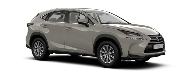 Lexus NX colours Sonic Titanium