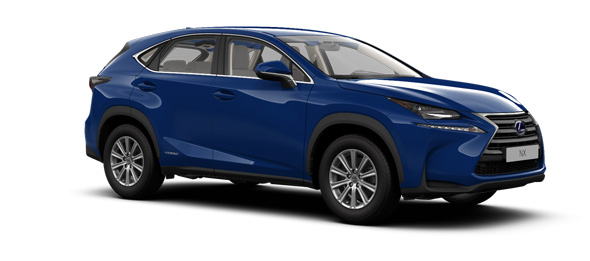 Lexus NX colours Ultrasonic Blue