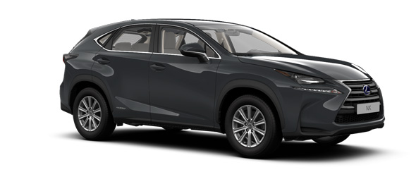 Lexus NX colours Mercury Grey