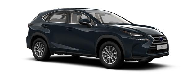 Lexus NX colours Meteor Blue