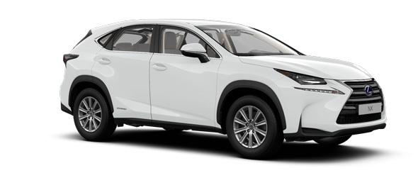 Lexus NX colours Sonic White