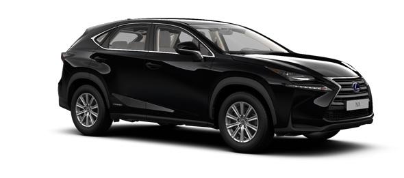 Lexus NX colours Velvet Black
