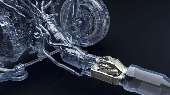 Exhaust heat recovery in CT200h