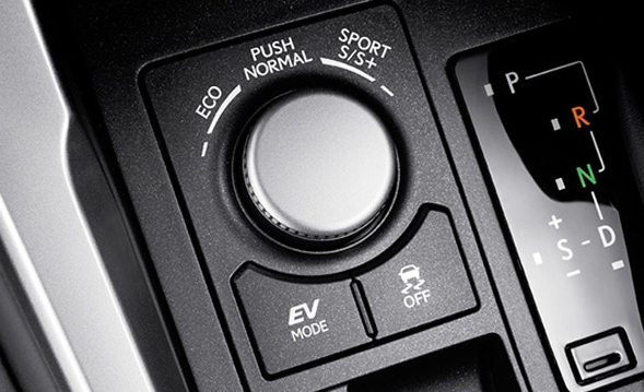 15 innovations of the Lexus NX Drive Mode Select