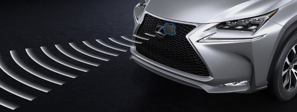 15 innovations of the Lexus NX Pre-Crash Safety