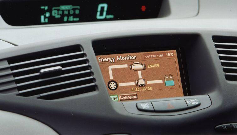 1997 Prius energy monitor