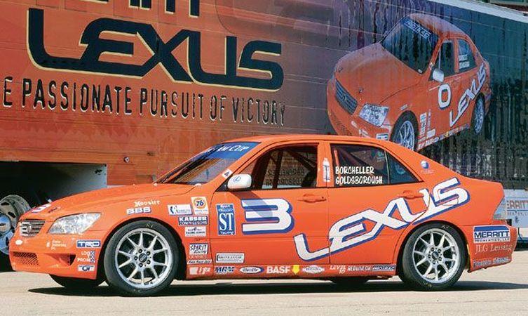 2001 Team Lexus IS 300