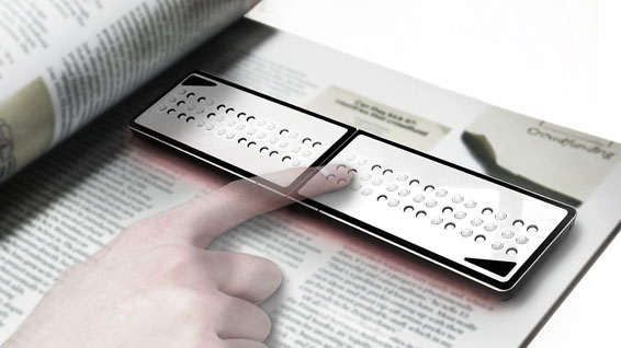 Lexus Design Award 2015 Braille Reader566