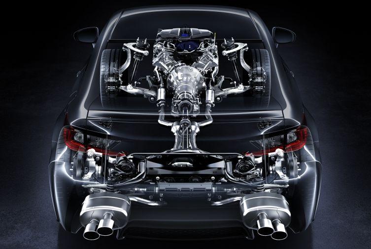 Lexus RC F technical