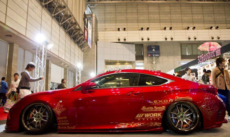 Lexus highlights from the 2015 Tokyo Auto Salon RC