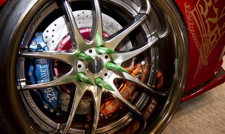 Lexus highlights from the 2015 Tokyo Auto Salon wheel nuts