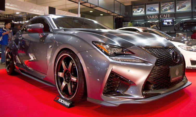 Lexus highlights from the 2015 Tokyo Auto Salon RC F