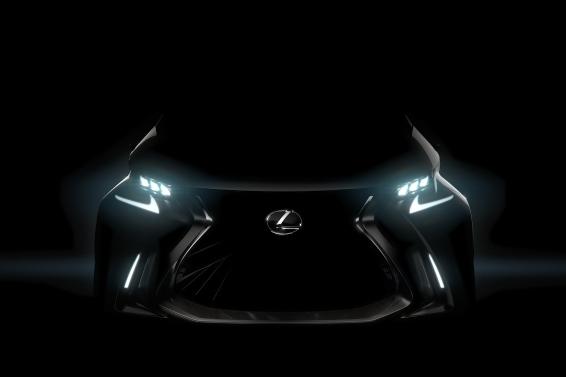 Lexus LF-SA teaser 2015 Geneva