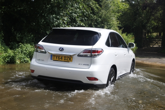 RX 450h off road fording
