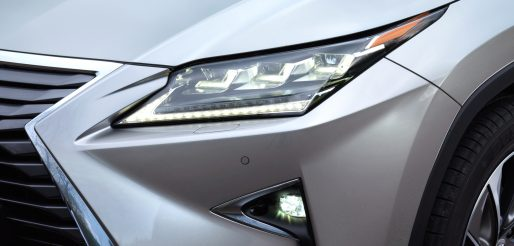 Lexus RX front headlight