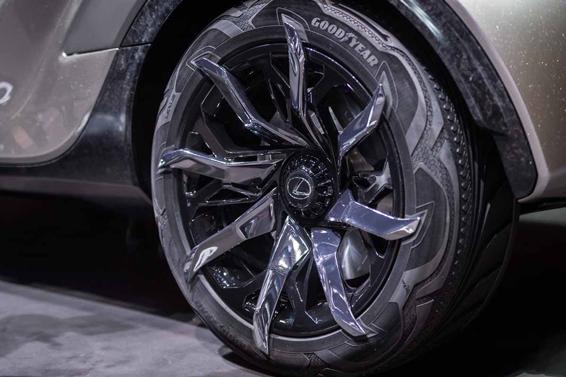 Lexus LF-SA wheels