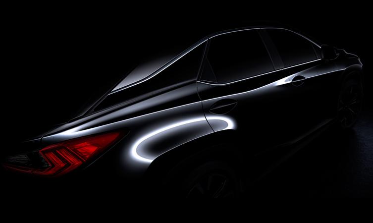 New Lexus RX New York motor show