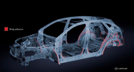 Lexus NX Advanced Body Adhesive