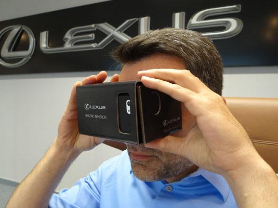 Lexus RC F virtual reality (3)