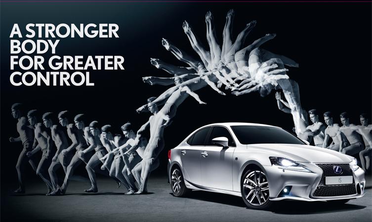 Lexus IS advert - Flow