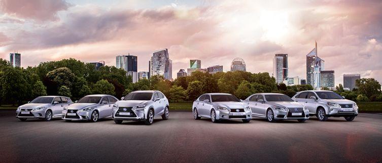 Lexus range 2015