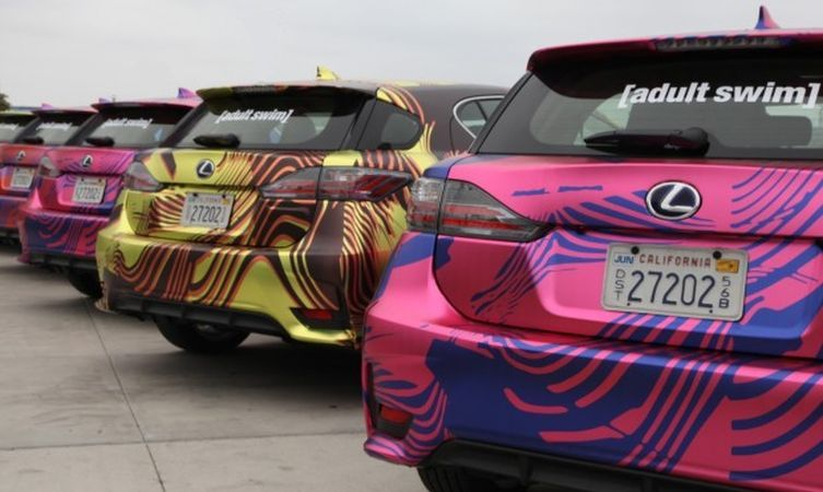 Lexus CT at Comic-Con