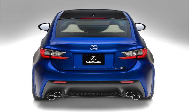 Lexus RC F rear lenses 02