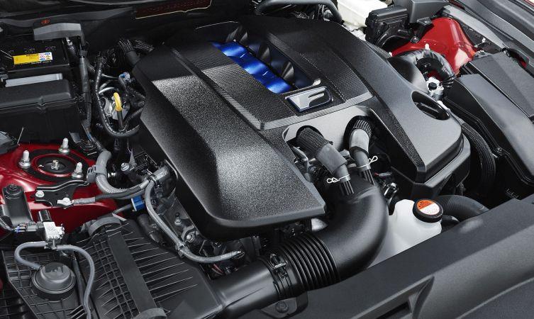 GS F engine 05