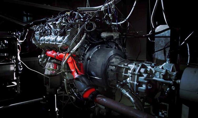 GS F engine 07