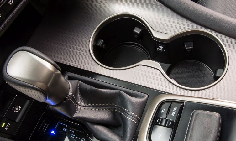 Lexus RX cup-holder