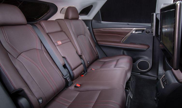 Lexus RX rear space
